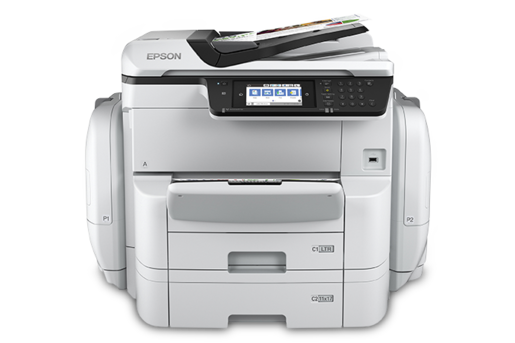 may in Epson WorkForce Pro WF-C869R